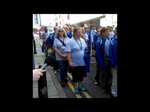 Aberdeen International Youth Festival Parade