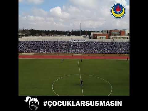 """TED Ankara Koleji'nin 6 bin öğrencisi """"Çocuklar Susmasın"""" Dedi"""
