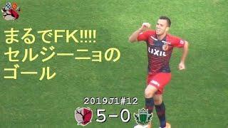 セルジーニョのスーパーゴール 2019J1第12節 鹿島 5-0 松本(Kashima Antlers)