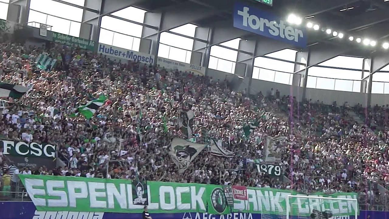 FC Sankt Gallen - GCZ, 14.07.2013, Stimmung