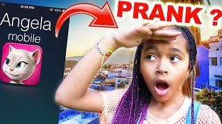 PRANK ou pas #PRANK? Talking ANGELA confirme le voyage au MAROC de VERITY !!