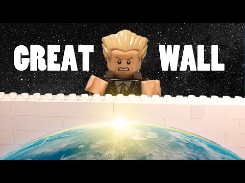 "I Will Build a ""Great"" Wall - LEGO Version 