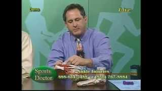 05/05/2004  Sports Doctor with Dr. Merrick Wetzler on Ankle Injuries