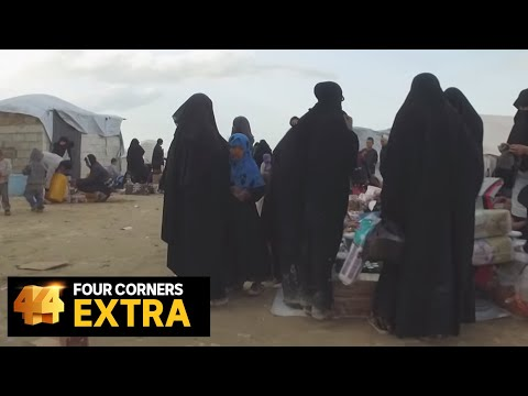 Walk through Syria's al-Hawl camp where thousands of Islamic State brides are held   Four Corners