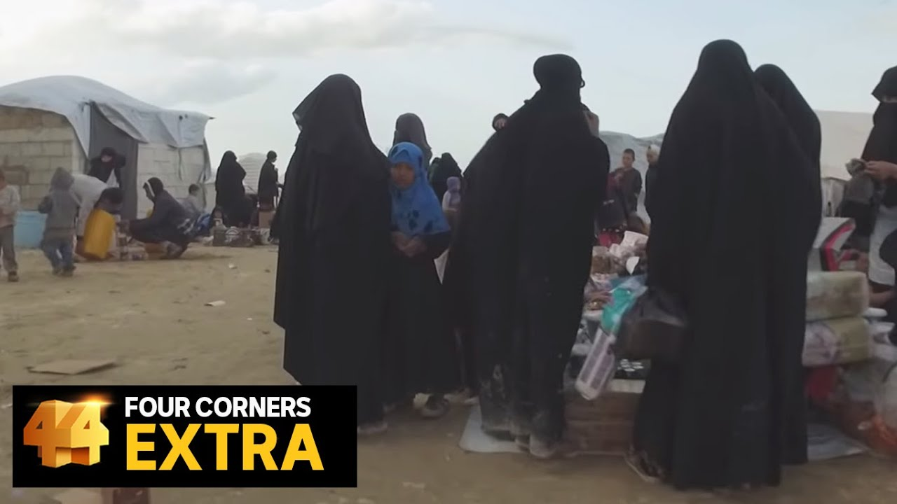 Walk through Syria's al-Hawl camp where thousands of Islamic State brides are held | Four Corners