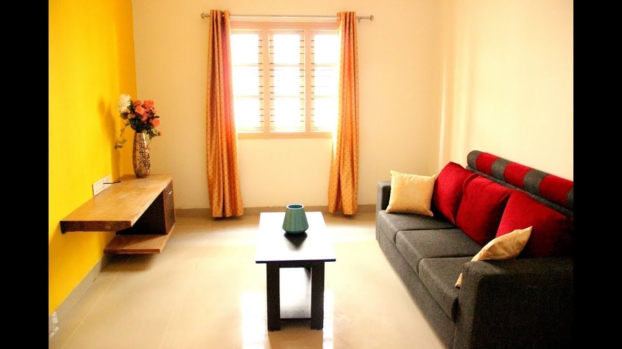 1 Bhk Home Interior Design Youtube