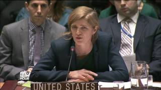 UN Ambassador Power warns against