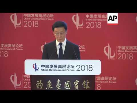 """Top China official warns against """"trade war"""", appeals for cooperation"""