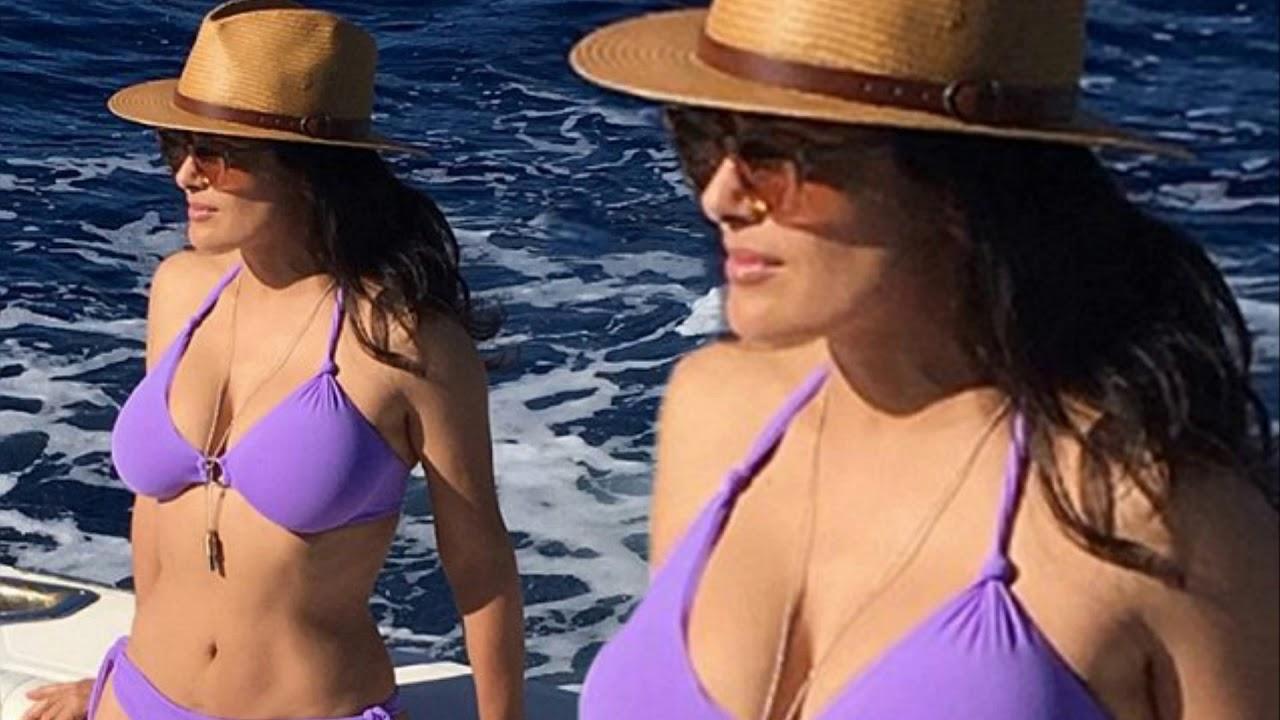 Bikini Salma Hayek naked (71 foto and video), Pussy, Hot, Instagram, in bikini 2020