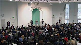 Cuma Hutbesi 22-01-2016 - Islam Ahmadiyya