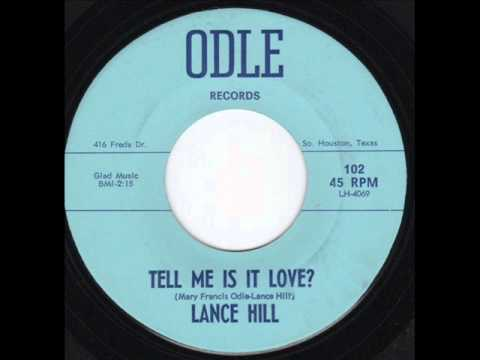 Lance Hill - Tell Me Is It Love?