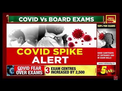 Corona Vs. Board Exam - Dr. Ravi Malik on India Today