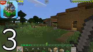 MasterCraft New Crafting and Building Game 2020 - Survival House - Gameplay Part 3 (Android iOS) screenshot 3