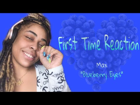 MAX - Blueberry Eyes (feat. SUGA of BTS) [Official Music Video] •FIRST TIME REACTION•