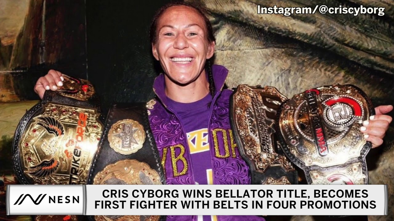 Cris Cyborg Makes MMA History, Says She Was 'Slave' To UFC