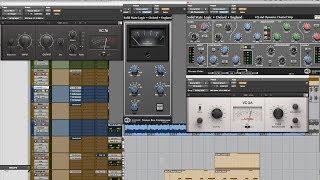 4 Drum Compressors - Tutorial Setting [Mix Talk Monday]