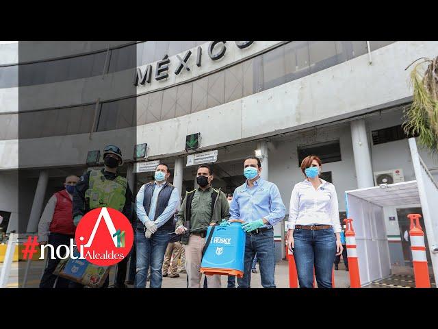 NotiAlcaldes: Nuevo Laredo realiza acciones permanentes para prevenir contagios de COVID-19