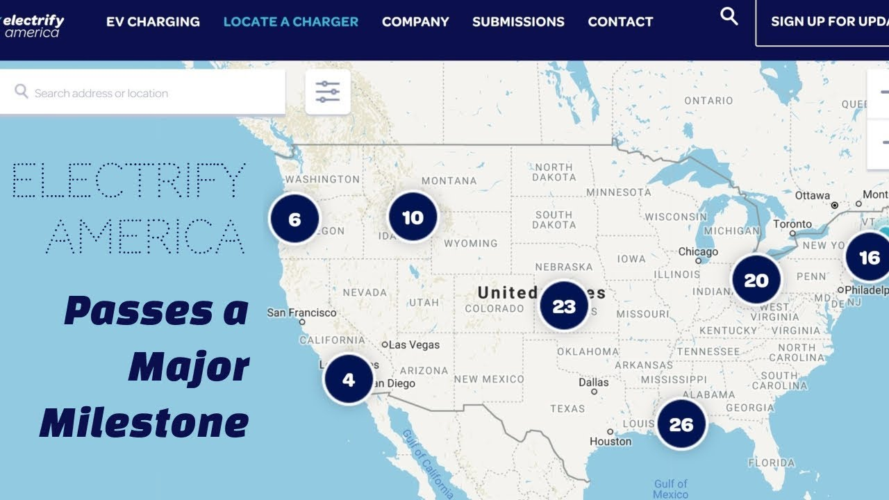 Electrify America Hits The 100 Mark Progress Site Review Charging