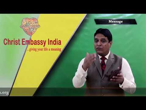 Sunday Service   English Online Church   2nd   Live church   Christ Embassy  India