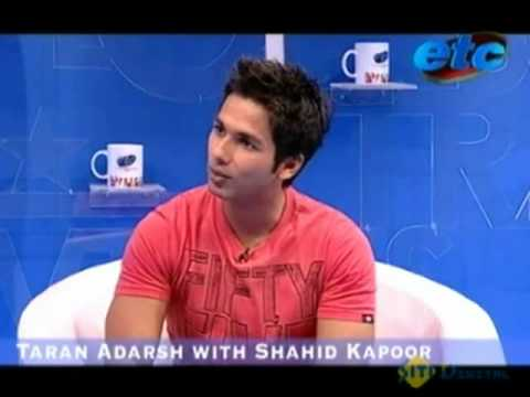 Behind the scenes of Chance Pe Dance with Shahid Kapur.