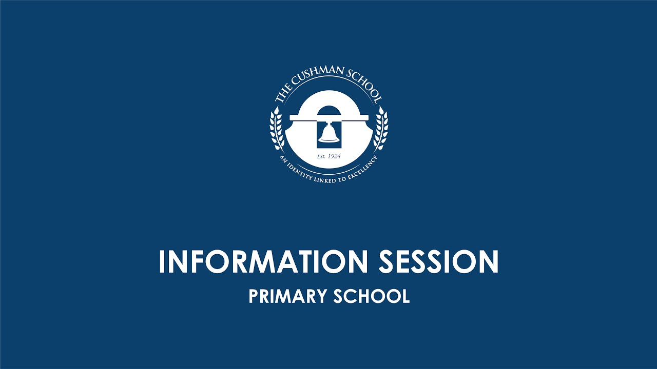 Download Primary School Info Session