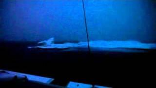 Northern Passage 2010 02 Sept Icebergs at night.mp4