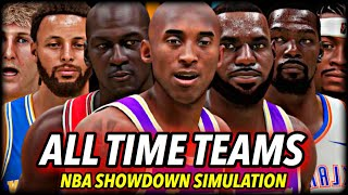 I Put Every All-Time NBA Team Into ONE LEAGUE... finding the Best Team Ever