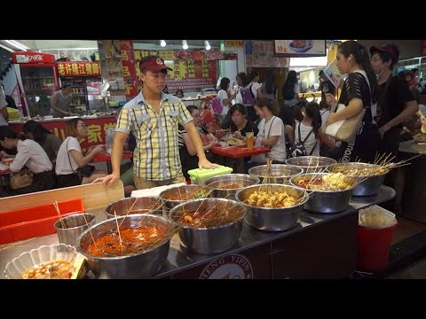 [Walking tour 漫步遊] 'Food Street' Dongmen Shenzhen China 深圳 東門 東門町美食街