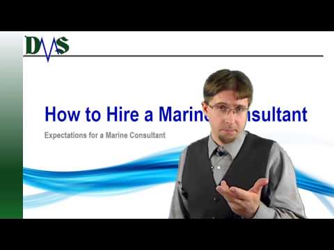 What To Expect From a Marine Consultant
