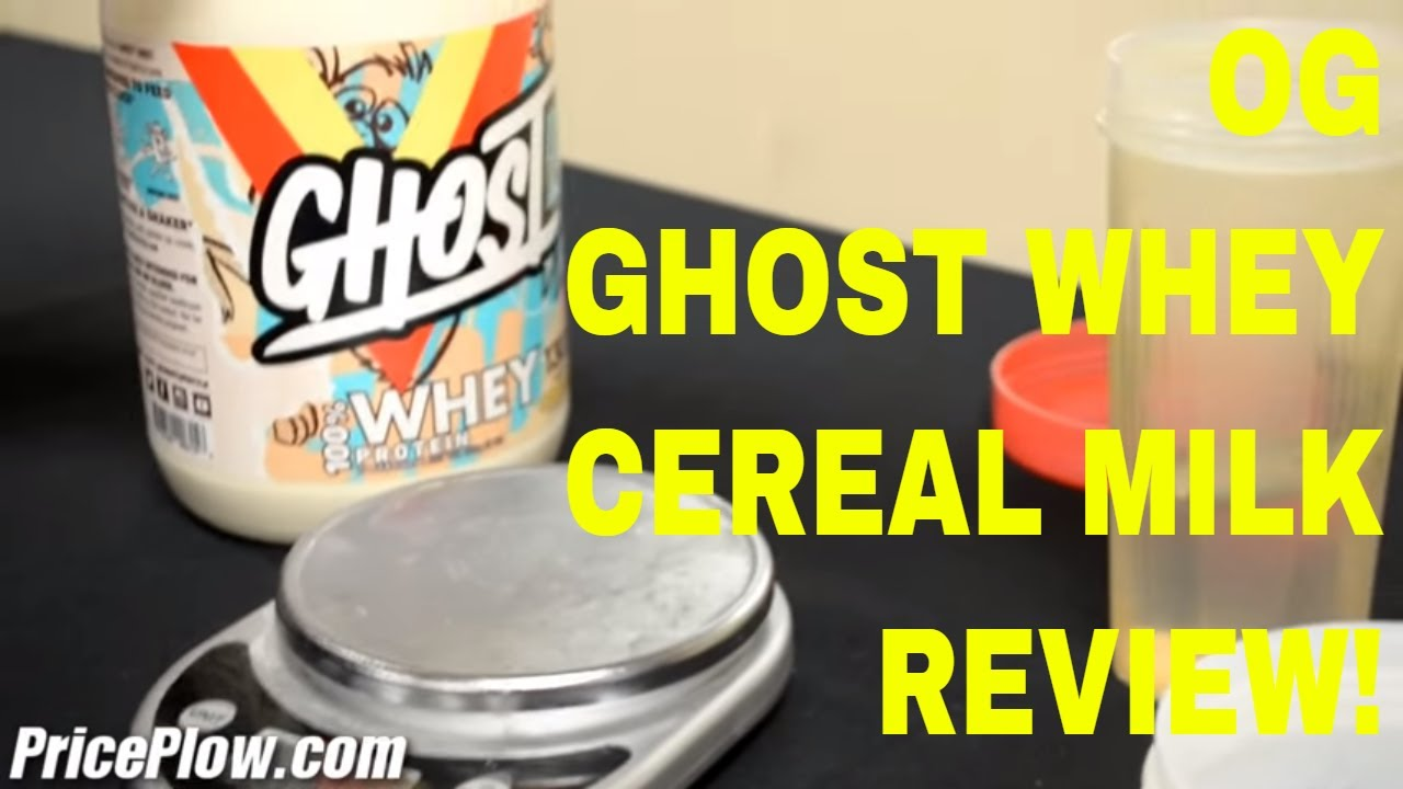 Ghost Whey Protein Review: CEREAL MILK!!! - YouTube