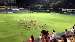 アルビレックス新潟シンガポール チアダンス