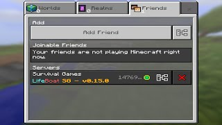 Minecraft PE 0.15.0 How To Connect and Register To External Servers + Funny Skit