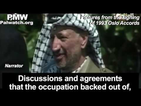 PA TV repeats libel: Israel murdered Arafat with poison, implies Abbas is next