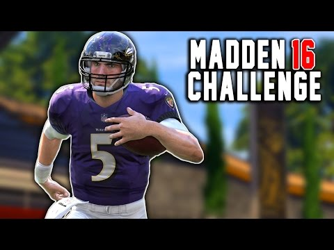 Joe Flacco Kick Return!  - Kick Returning With Quarterbacks! - Madden 16 NFL Challenge!