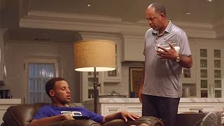 Stephen Curry's Dad Puts Him in His Place