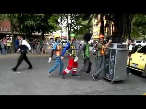 Arte Callejero Buena Forma De Ganar Dinero En La Calle ツ Youtube
