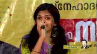 Nimisha Salim (G/D of M.S.Baburaj) singing Kannu Thurakkatha -Agniputri