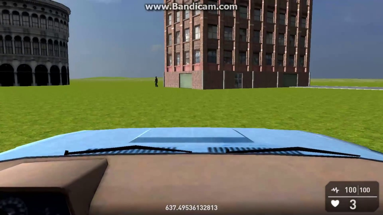 Latest GameGuru drive able Car: Collision and almost no bouncing