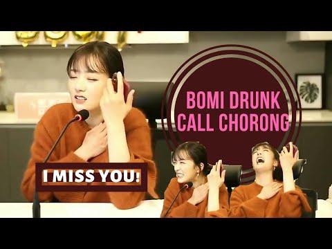 [ ENGLISH SUB ] Apink Bomi Drunk Call To Chorong Chobom Chomi 에이핑크 초롱 보미 초봄 모음
