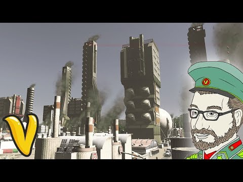 FUTURISTIC INDUSTRY DISTRICT!! Cities: Skylines Building Vladistan #22