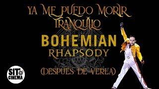 Ya ME PUEDO MORIR TRANQUILO: BOHEMIAN RHAPSODY | Trailer REACCION