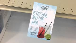 Shelf Wobblers in Action - Beverage Point of Sale Materials - Printed by First in Print