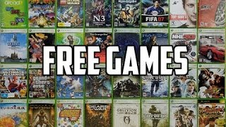 How to get Xbox 360 Games for Free!! /All for Free