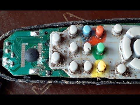 Clean And Repair Remote Controller TV