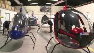 Una empresa familiar bonaerense presentó sus nuevos modelos de helicópteros thumbnail
