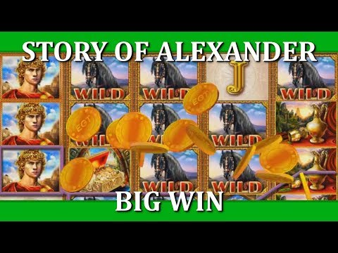 BIG WIN - THE STORY OF ALEXANDER - EGT (meep_bleep)