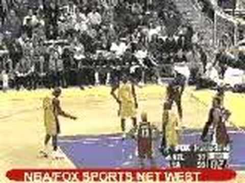 Shaq Airball on Freethrow - YouTube