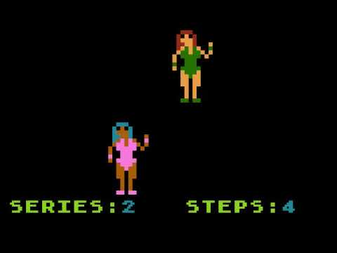 Repeat after Simona - Atari game for NOMAM BASIC 10Liners Contest 2020