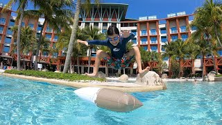 Vlog#73 싱가포르 여행 Day 4 하드락호텔 수영…