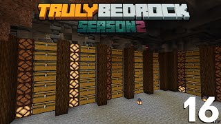 Storage Silo's and the Diamond Block Pile Truly Bedrock S2 Ep16